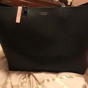Large Black Victoria's Secret Tote